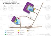 Minneapolis-St. Paul International Airport map
