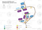 Moscow Sheremetyevo International Airport map