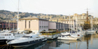 The NH Marina overlooks the bay