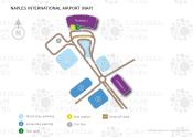 Naples International Airport map