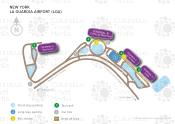 New York LaGuardia Airport map