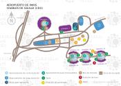 Aeropuerto de Paris Charles de Gaulle map