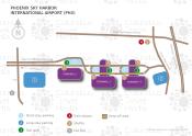 Phoenix Sky Harbor International Airport map