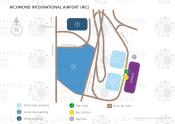 Richmond International Airport map