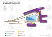 San Juan Luis Muñoz Marin International Airport map