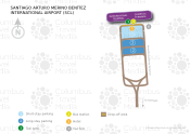 Santiago Arturo Merino Benítez International Airport map