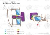 Shanghai Hongqiao International Airport map