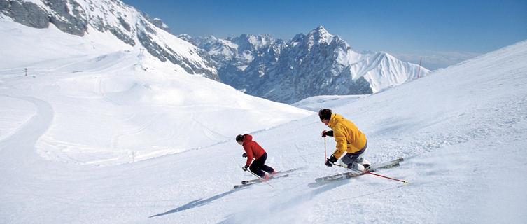 Skiing in Garmisch-Partenkirchen