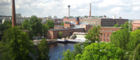 Tampere's factories dominate the skyline