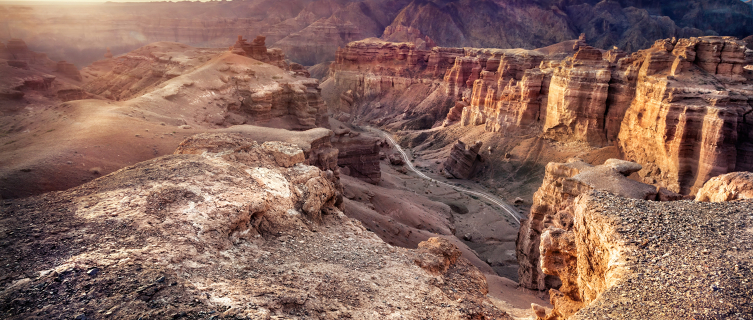 The splendour of Charyn Canyon