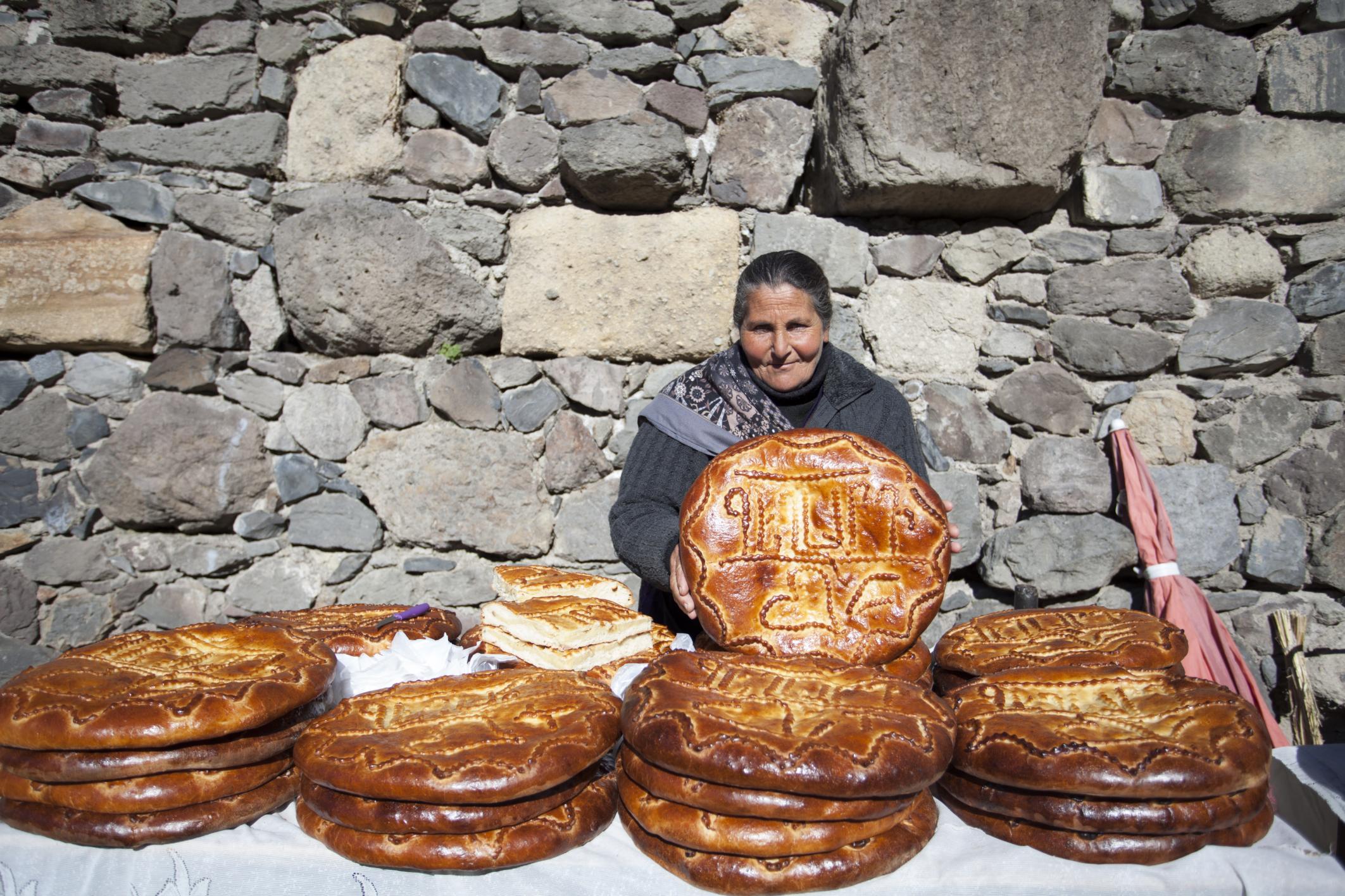 Traditional Armenian cakes