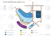 Tucson International Airport map