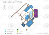 Venedig Marco Polo Flughafen map