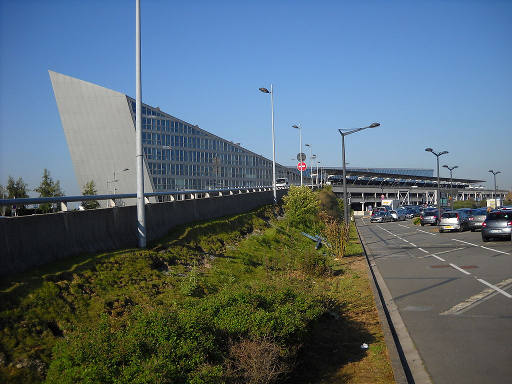 Outside Lille Airport