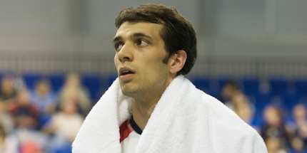 Team GB's men's volleyball vice-captain Andrew Pink