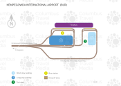 Kempegowda International Airport map