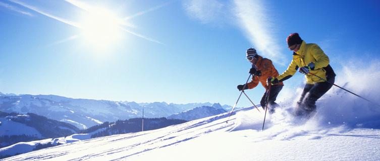 Enjoy deep powder-snow
