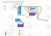 Ngurah Rai Airport map