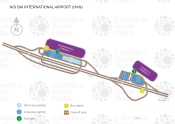 Noi Bai International Airport map