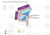 Tan Son Nhat International Airport map