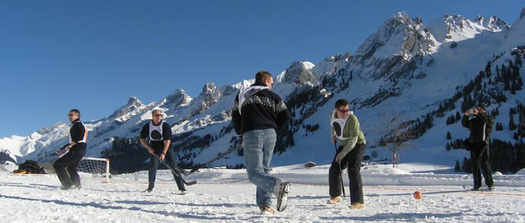 Ice hockey in La Clusaz