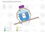Karachi Jinnah International Airport map