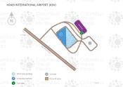 Krabi International Airport map