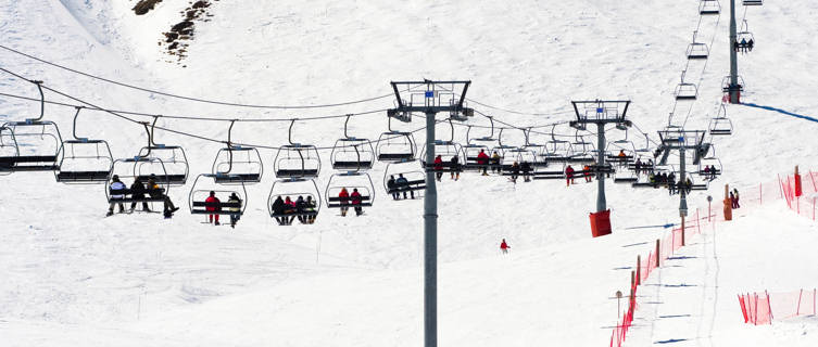 Risoul ski lift