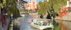 Float down the Ljubljanica River