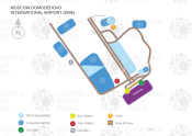 Moscow Domodedovo International Airport map