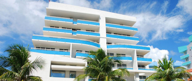 Art deco hotel in Miami