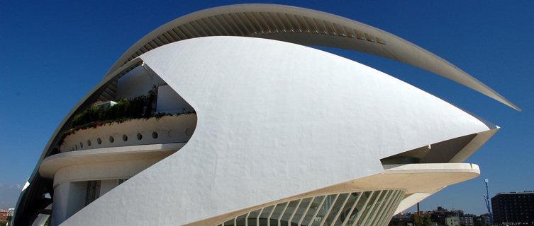 Auditorium of Santiago Calatrava, Valencia