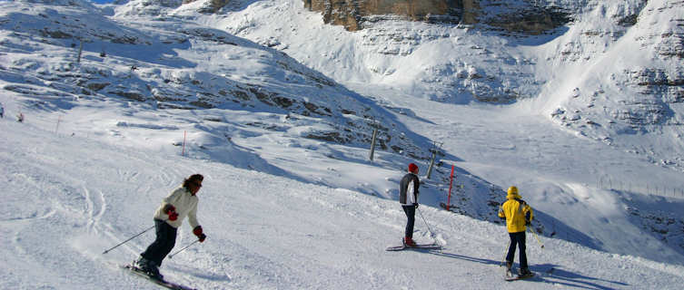 Cortina ski slope