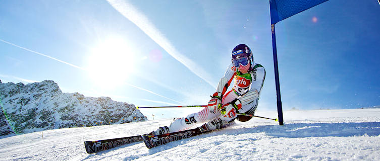 Downhill skiing in Obergurgl