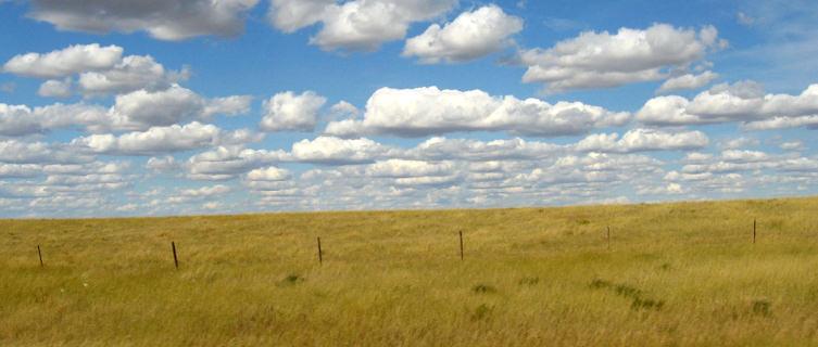 Driving through South Dakota
