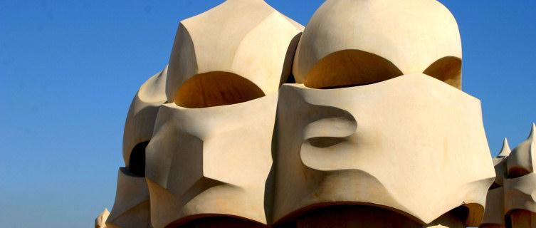 Gaudí sculpture Barcelona