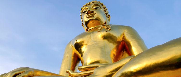 Giant Buddha in Chiang Mai