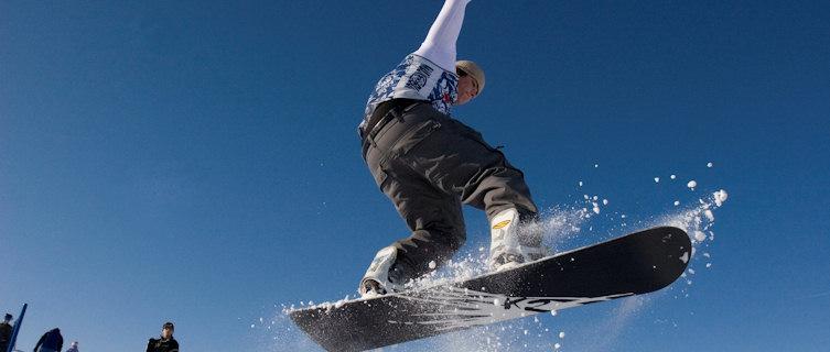 Hitting the slopes, Rusutsu
