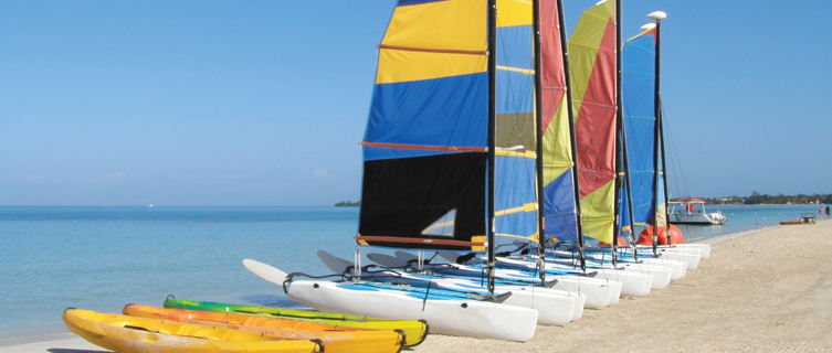 Jamaica offers lots of great watersports