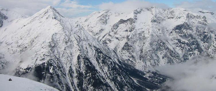 Les Deux Alpes in France