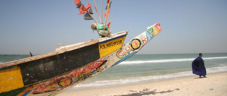 Mauritania boat