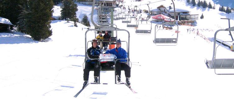 Mayrhofen ski lifts