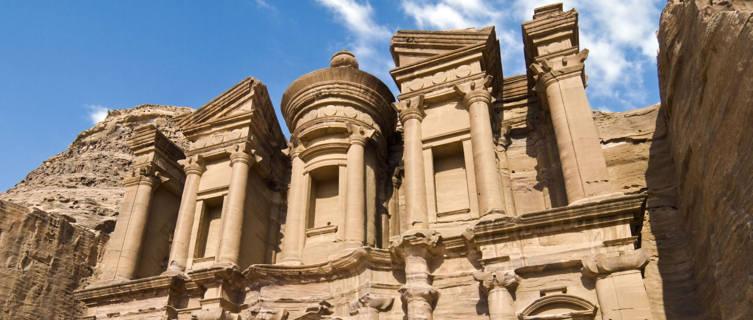 Monastary in Petra, Jordan