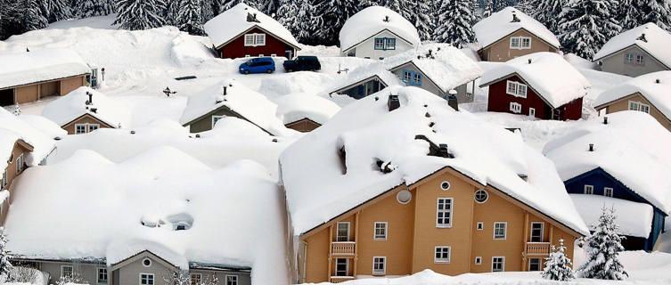Norwegian chalets, Flaine