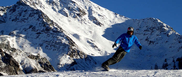 On the slopes, Sestriere