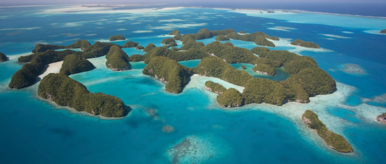 Palau's Seventy Islands, Pacific Islands of Micronesia