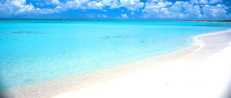 Pristine beach, Barbuda