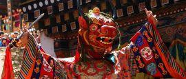 Dance of the Lord of Death, Paro, Bhutan