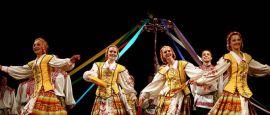 Folk dancing in Belarus
