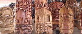 Handicrafts on sale in Malawi